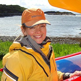Alison French Sea Kayak Plockton Instructor