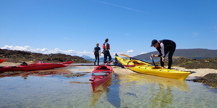 Sea Kayak Plockton BCU 1 Star Training & Assessment