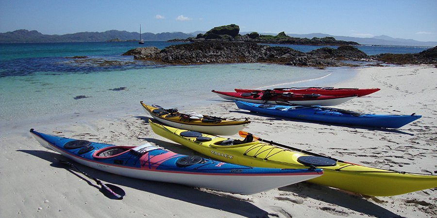Sea Kayak Plockton Skye Expedition