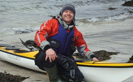 Murdo Fraser Sea Kayak Plockton Instructor