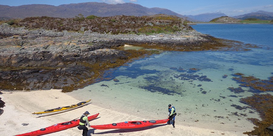 sea kayak plockton Kayaking with views Applecross