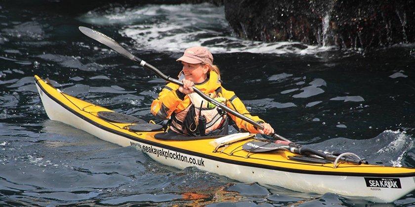 sea kayak plockton alison french team