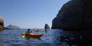 Sea Kayak Plockton St Kilda cliffs