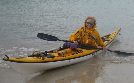 Sea kayak plockton instructor Juliet Parker-Smith