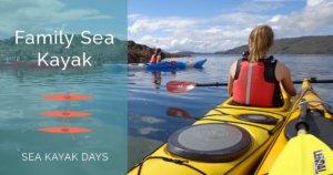 event header sea kayak family