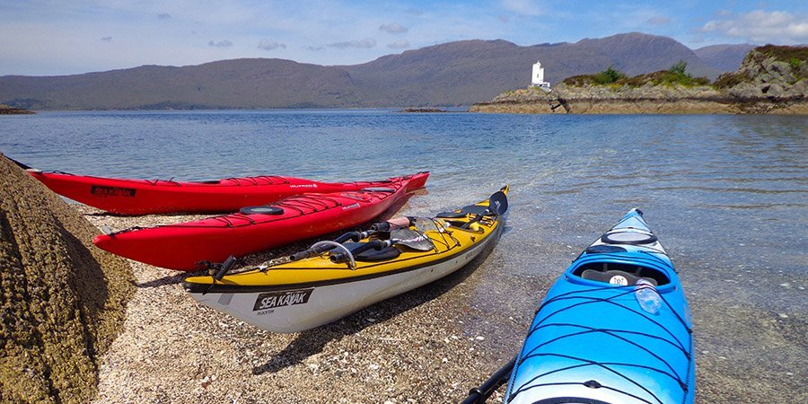 sea kayak plockton Kayaking taster days