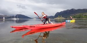 sea kayak plockton Scotland family Sea Kayaking