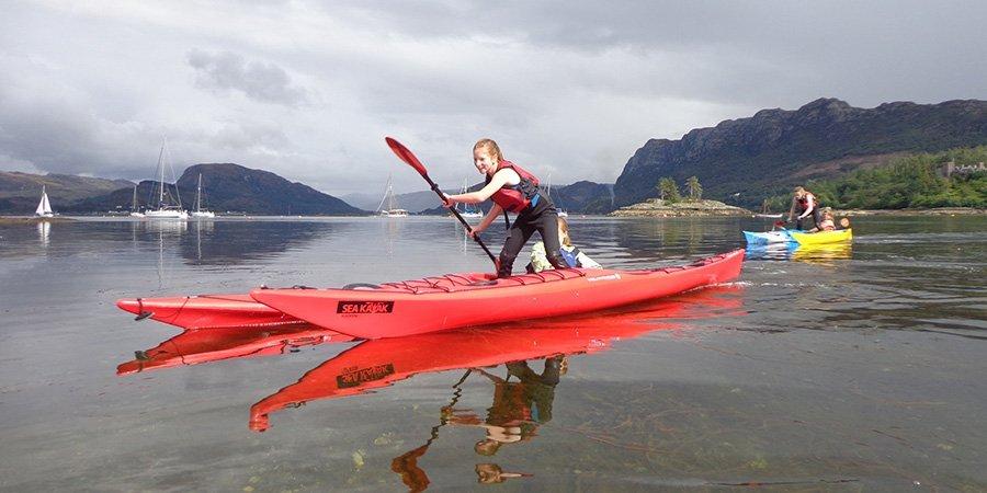 sea kayak plockton Scotland family Sea Kayaking