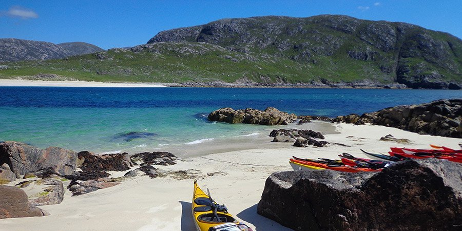 sea kayak plockton expedition St Kilda Scarp