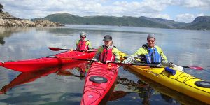 sea kayak plockton family sea Kayaking Scotland