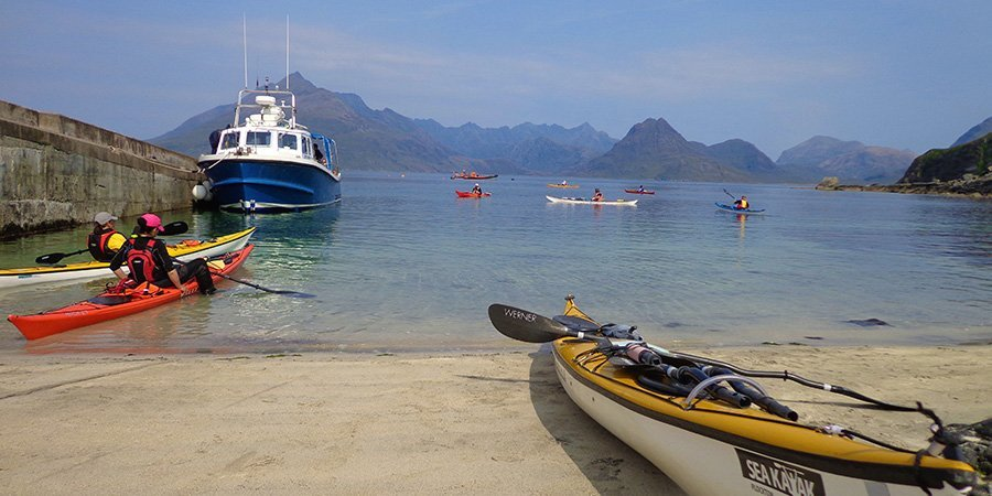 sea kayak plockton harbour