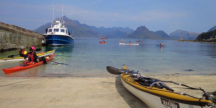 sea kayak plockton harbour