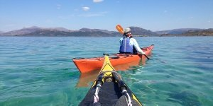 sea kayak plockton kayakers sea