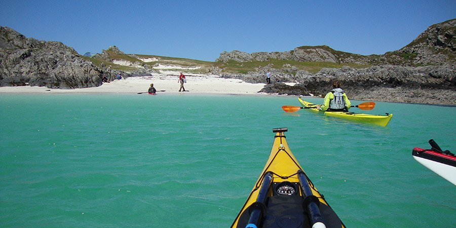 sea kayak plockton skye expedition arisaig