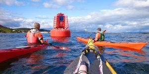 sea kayak plockton introduction sea safety