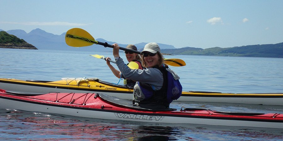 sea kayak plockton skye sea adventure